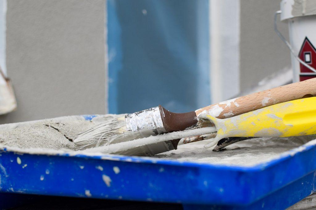 brush, roles, paint