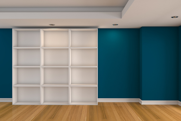 interior painted blue and white (1)