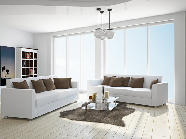 white interior with white couches (1)